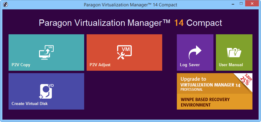 Paragon Virtualization Manager