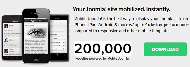 Joomla 2.5 как сделать мобильную версию сайта