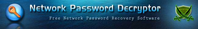 Network Password Decryptor
