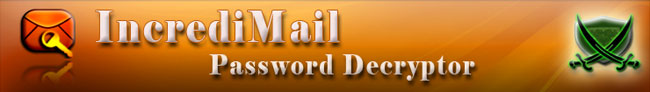 IncrediMail Password Decryptor
