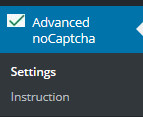Advanced noCaptcha reCaptcha для WordPress сайту