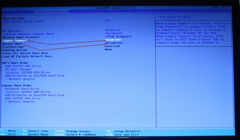Создаем загрузочный HDD для загрузки в режиме UEFI и MBR
