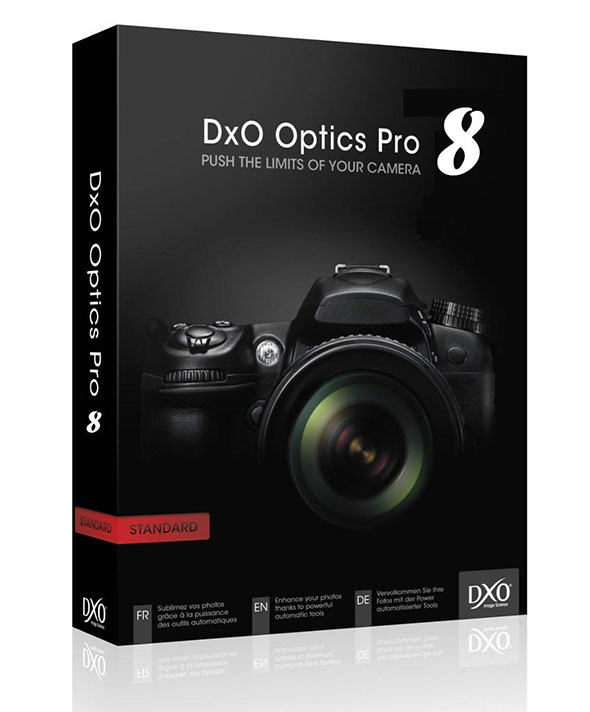 DxO Optics Pro 8 Elite Edition