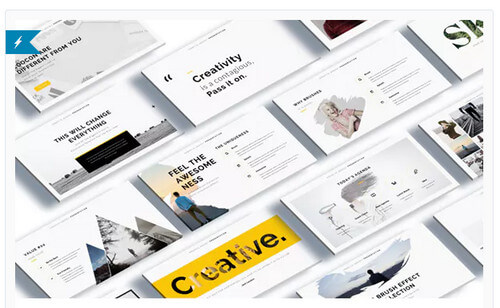 Cocoon – Creative Powerpoint Template
