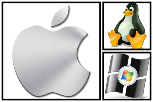 Linux, macOS, iOS, Windows