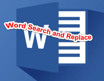Word Search and Replace