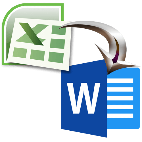 Microsoft Office Excel copy table to Microsoft Office Word