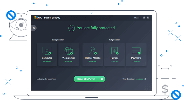 AVG Internet Security 2020 free license
