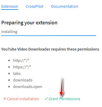 YouTube download for browser