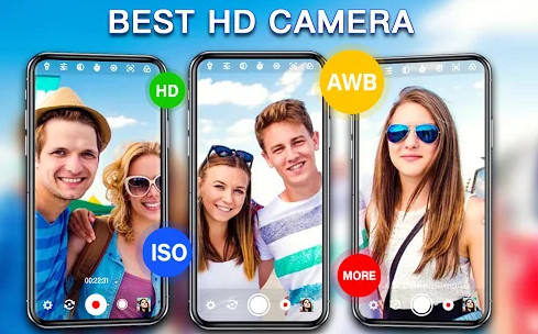 Free professional camera for your Android smartphone
