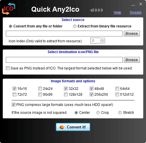 Quick Any2Ico