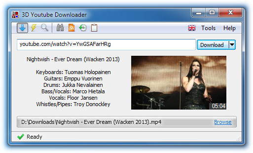 3D Youtube Downloader