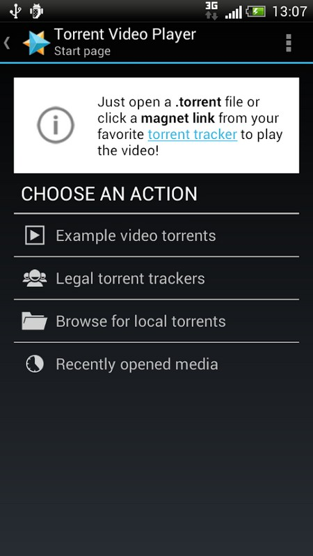 Torrent Video Player